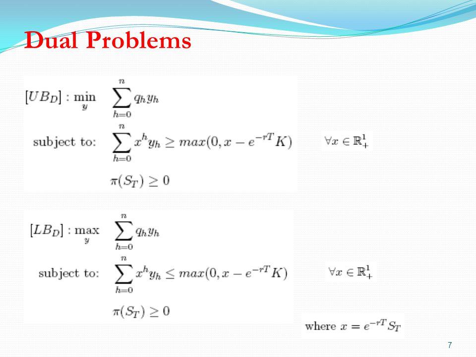 Dual Problems 7