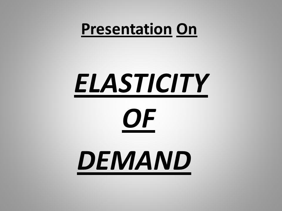 Cross Elasticity of Demand For Neutral Products P r i c e o f Y O Y X D Demand for Y
