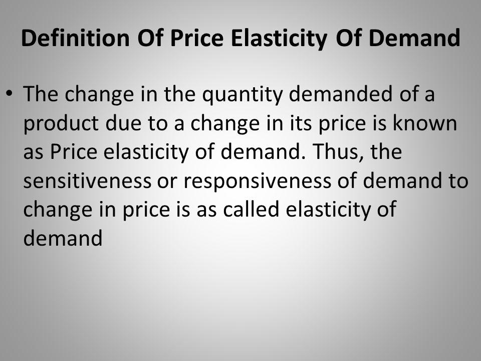 Advertising Elasticity of Demand Advertising elasticity of demand is the measure of the rate of change in demand due to change in advertising expenditure The amount of change in demand of goods due to advertisement is known as Advertisement Elasticity of Demand.