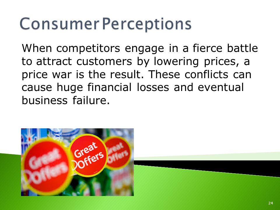 When competitors engage in a fierce battle to attract customers by lowering prices, a price war is the result.