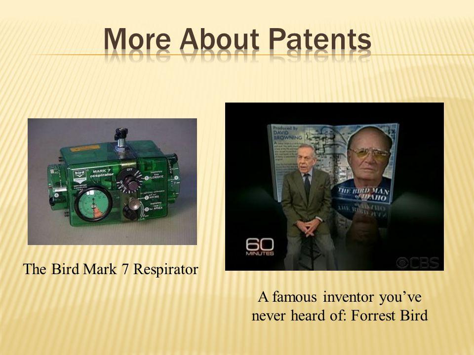 A famous inventor youve never heard of: Forrest Bird The Bird Mark 7 Respirator