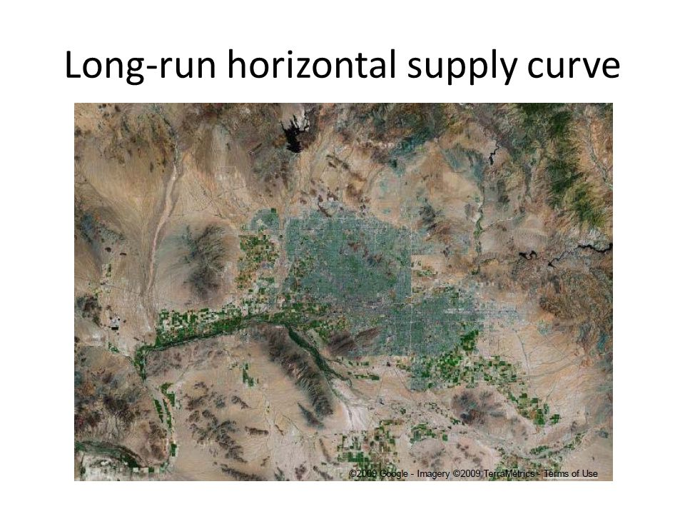 Long-run horizontal supply curve Phoenix