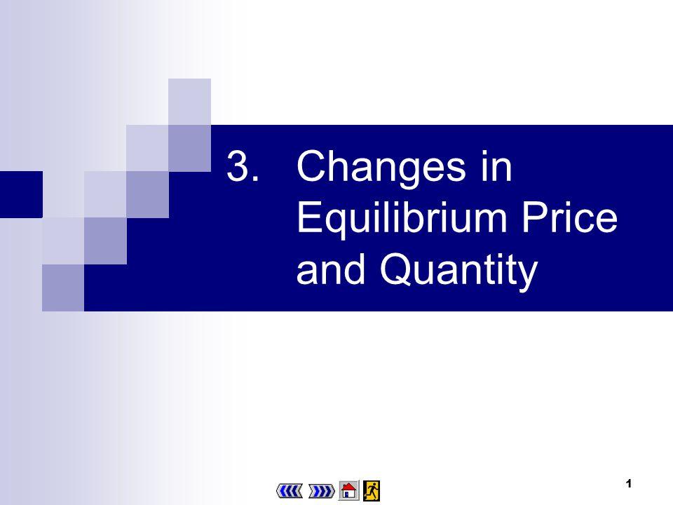 1 3.Changes in Equilibrium Price and Quantity