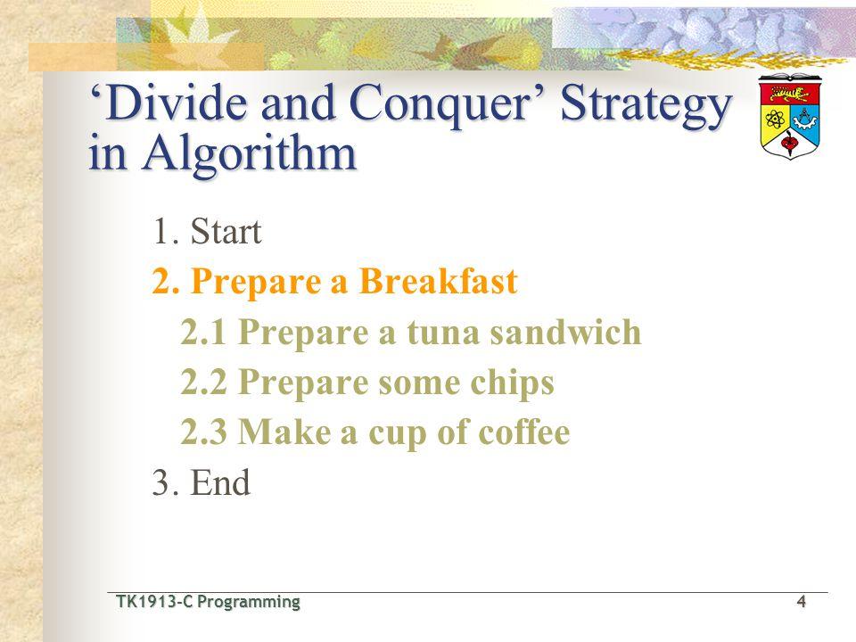 TK1913-C Programming4 TK1913-C Programming 4 1.Start 2.