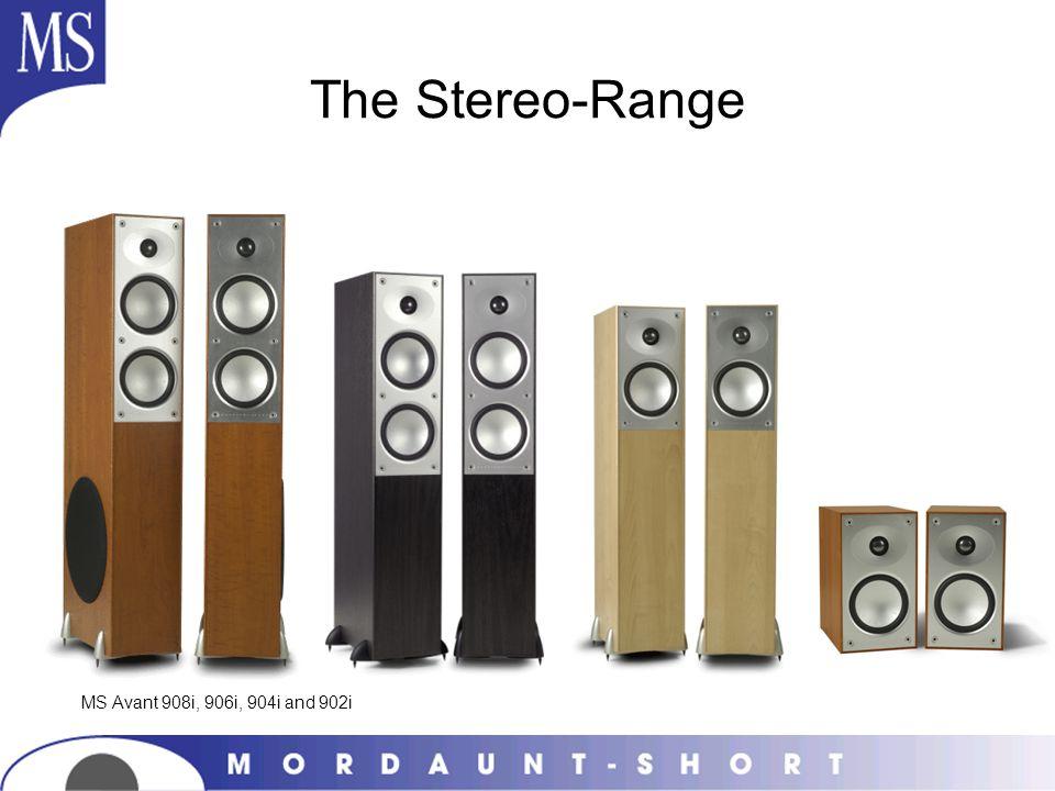 The Stereo-Range MS Avant 908i, 906i, 904i and 902i