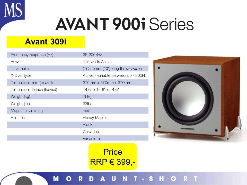 Avant 309i Price RRP 399,-