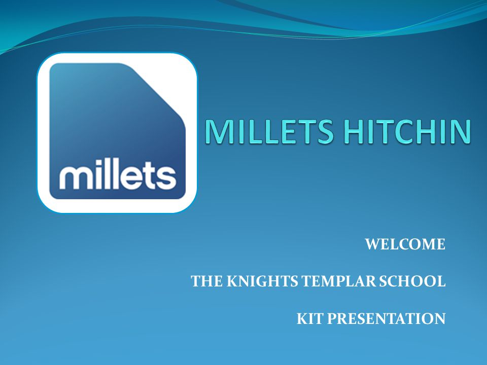 WELCOME THE KNIGHTS TEMPLAR SCHOOL KIT PRESENTATION