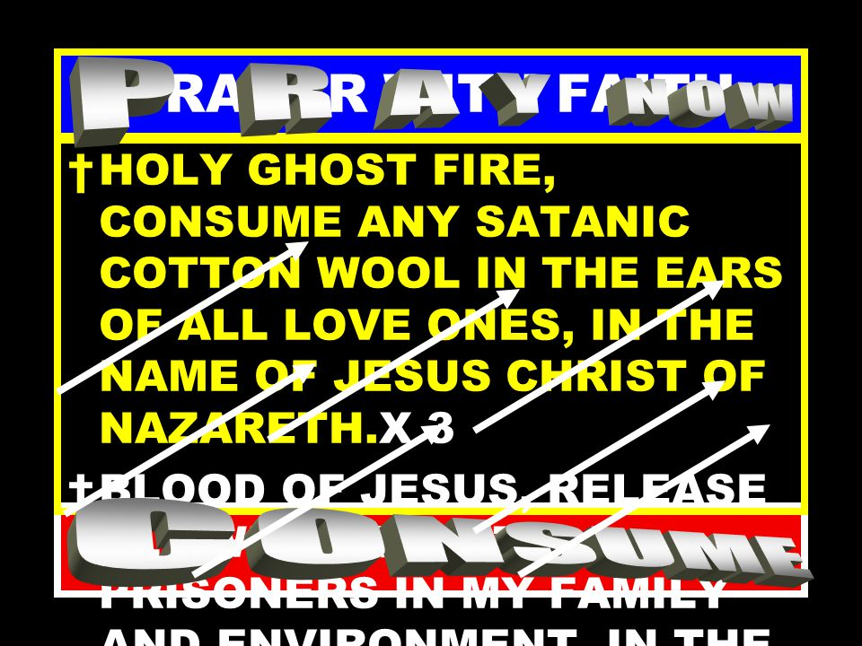 PRAYER WITH FAITH DIVINE EARTHQUAKE, LET SATANIC PRISONS COLLAPSE FOR SOULS TO ESCAPE TO CHRIST, IN THE NAME OF JESUS CHRIST OF NAZARETH.X 3 EVERY SATANIC CHAIN, HOLDING SOULS CAPTIVE, BREAK BY FIRE, IN THE NAME OF JESUS CHRIST OF NAZARETH.