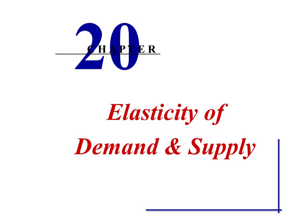 Perfectly elastic demandPerfectly elastic demand P Q Any Change in P will cause a huge change in Q d ε d =