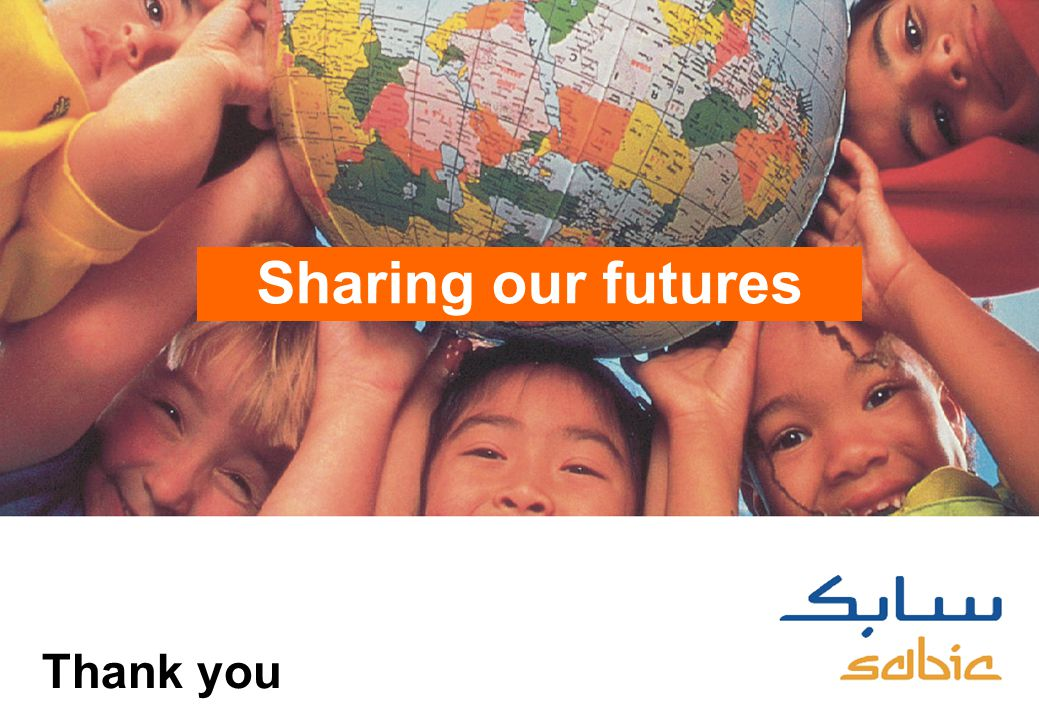 16 Sharing our futures Thank you