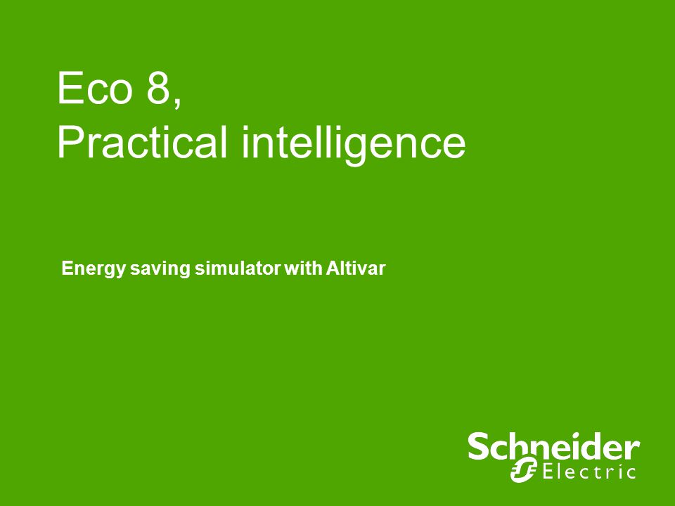 Schneider Electric 12 - M&D – Hieulle Sylvain – 2008/07/21 Step 4 : define the operating time Select the operating time reference Fill the right cells for each flow rate