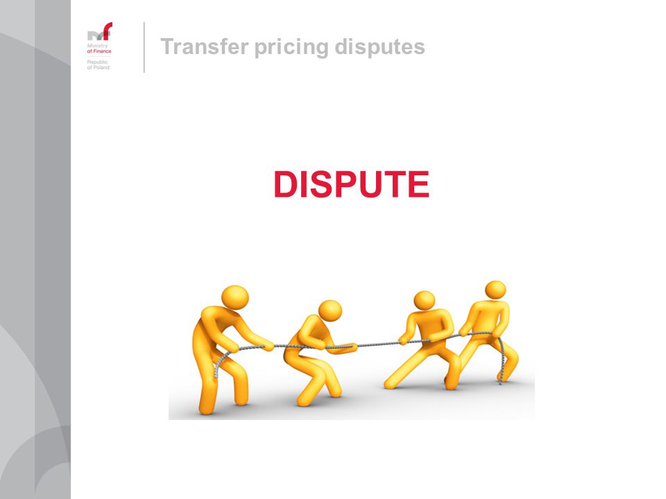 Transfer pricing disputes DISPUTE