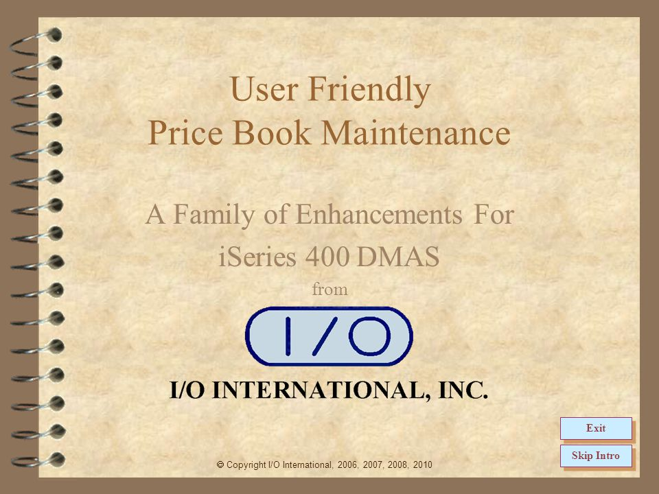 11 Return to Price Book Summary Accessing UF Maintenance A list of all existing price books is displayed The user may work with an existing price book by using the supplied options The list of displayed price books may be limited by using the selection fields The price book type indicates either discount or markup The price book header page contains a status flag for each page (* = no entries, A = Active, D = Deleted, S = Suspended
