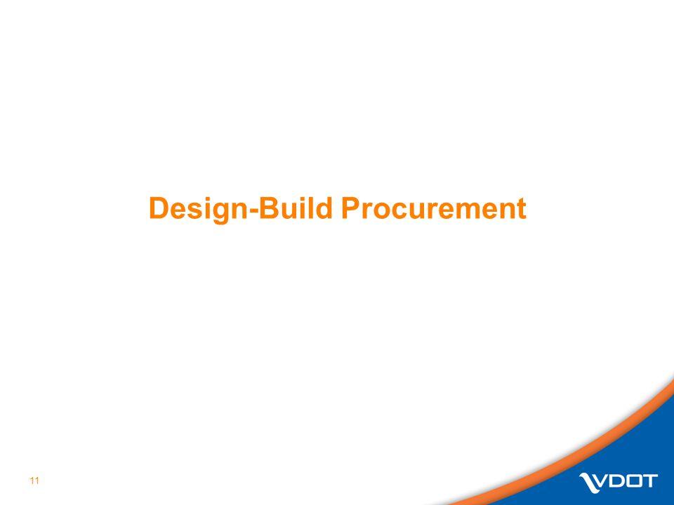 11 Design-Build Procurement