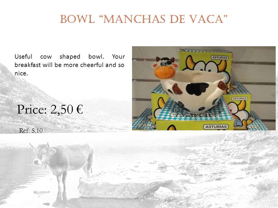 Bowl MANCHAS DE VACA Ref: S.10 Price: 2,50 Useful cow shaped bowl.