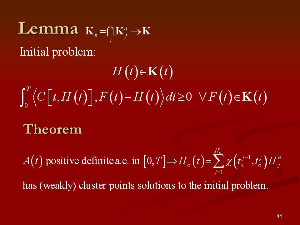 44 Lemma Theorem