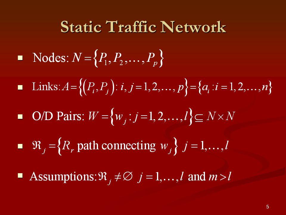 5 Static Traffic Network