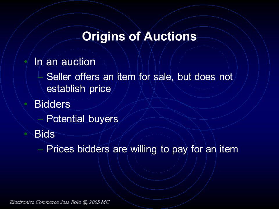 English Auctions (e.g.