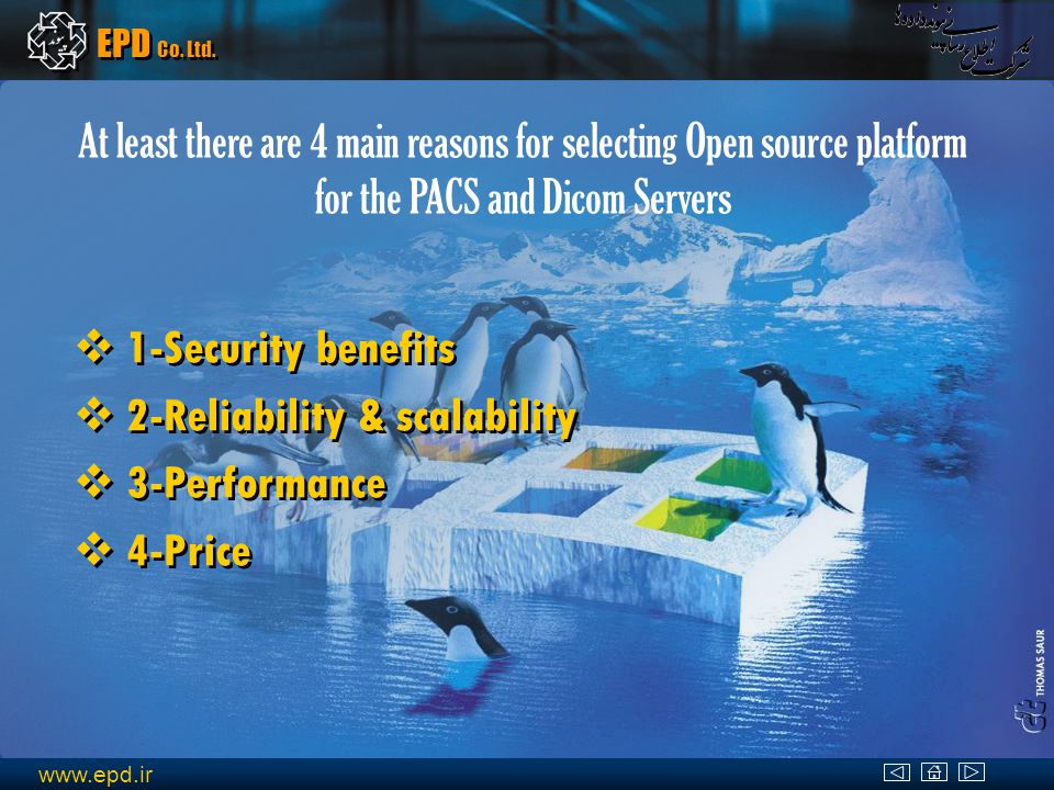 www.epd.ir EPD Co. Ltd. Microsoft Solution Software Cost