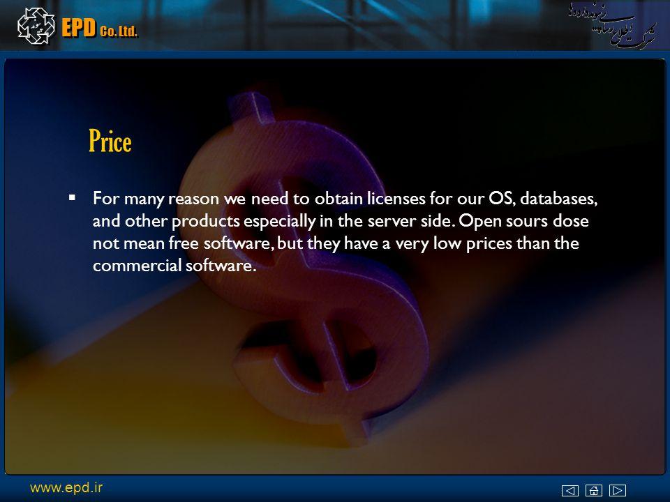 EPD Co. Ltd. Standard Linux Solution vs. Microsoft Solution