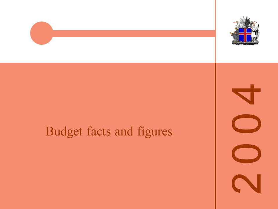 Budget facts and figures