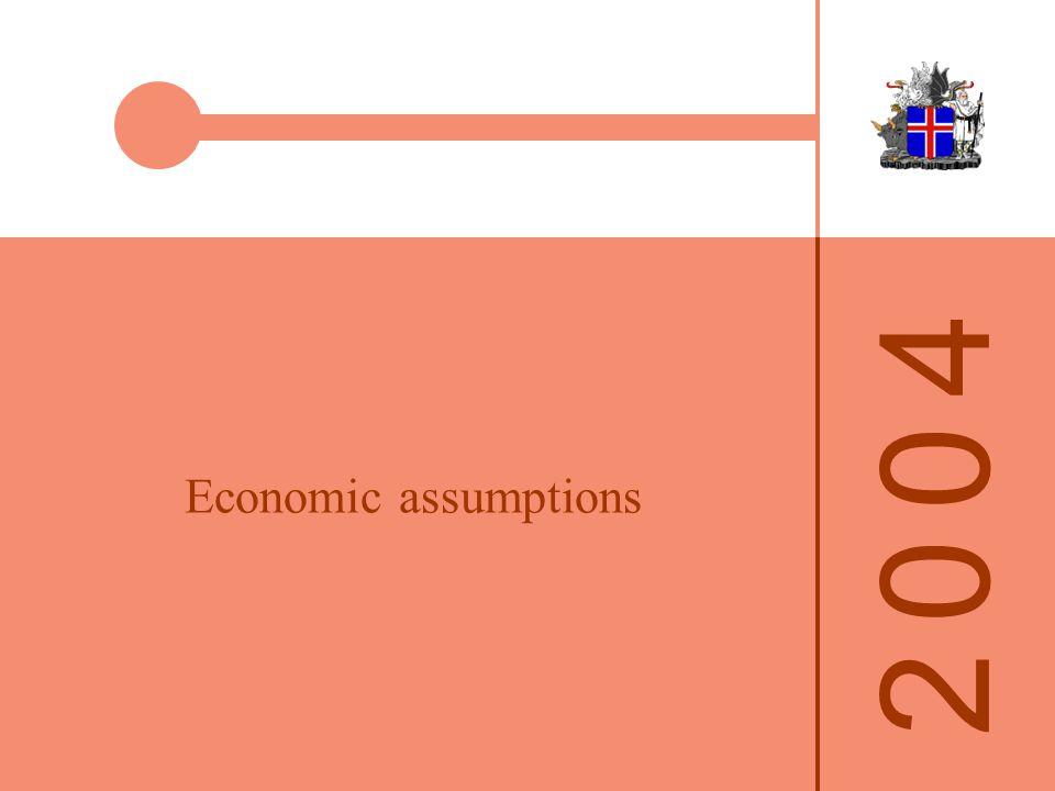 2 0 0 42 0 0 4 Economic assumptions
