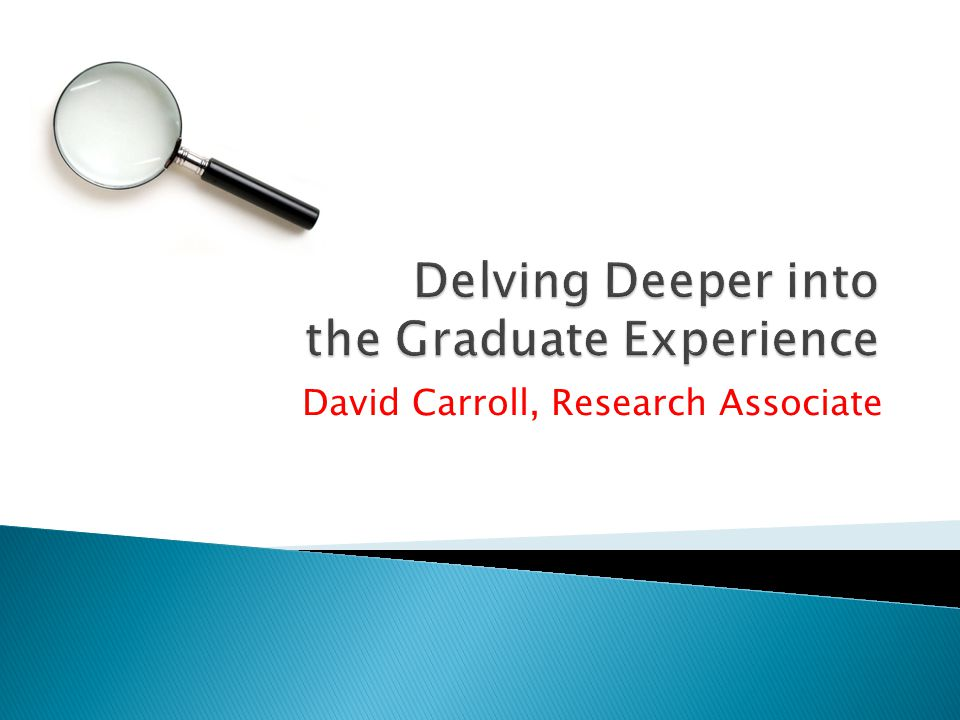 David Carroll, Research Associate