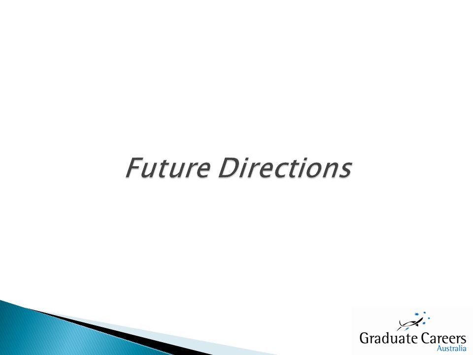 Graduate Destinations focus on relative proportions of graduates within categories Two proportion z-test proposed to examine two subgroups of interest: Proportion of graduates engaged in particular activities Proportion engaged in particular activities in different years