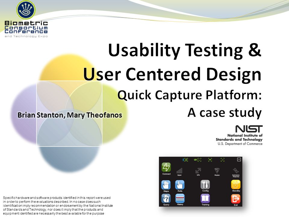 User Centered Design Context of Use User & Organizational Requirements Design Solution Evaluation Users Context of Use User & Organizational Requirements Design Solution Evaluation Users