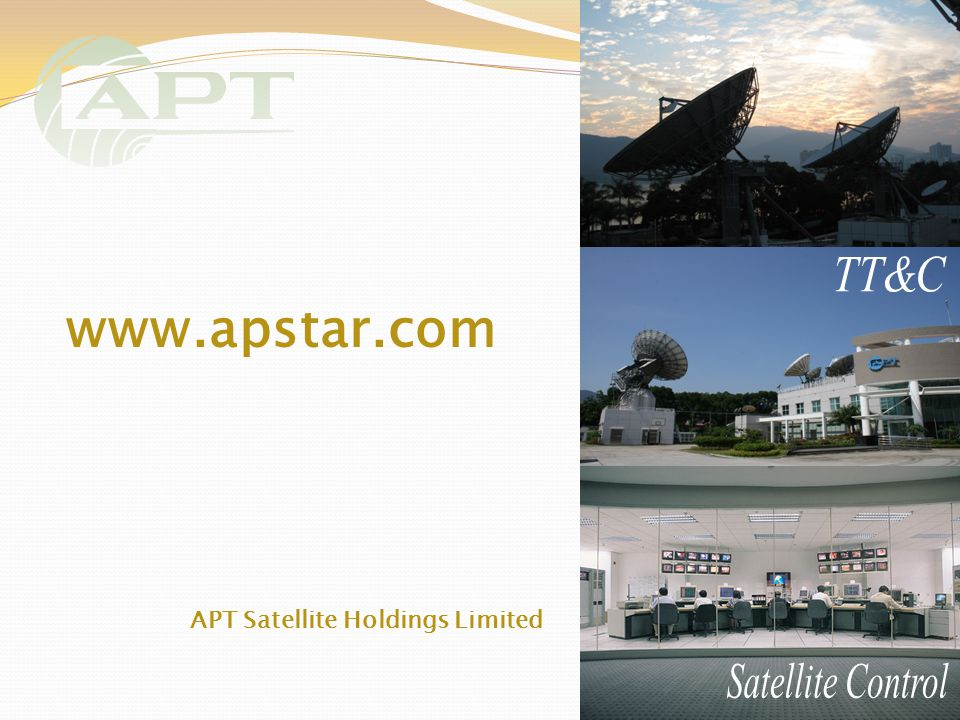 27 APT Satellite Holdings Limited www.apstar.com