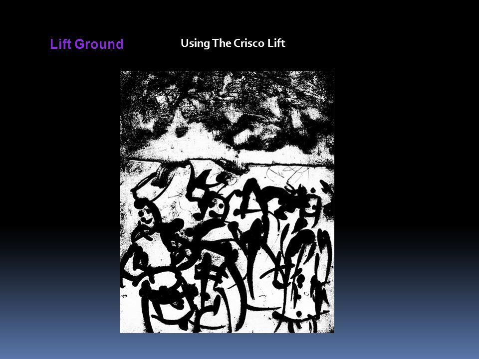 Lift Ground Using The Crisco Lift