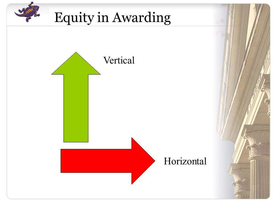 Vertical Horizontal Equity in Awarding