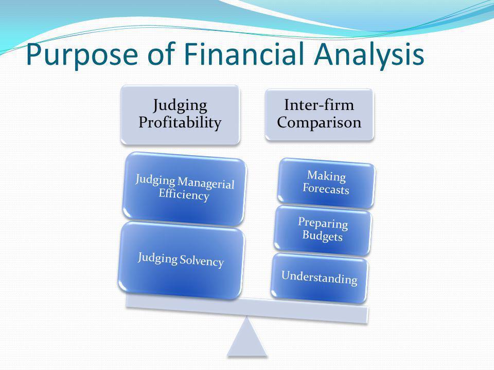 Process of Financial Statement Analysis Rearrangement of Statements ComparisonAnalysisInterpretation
