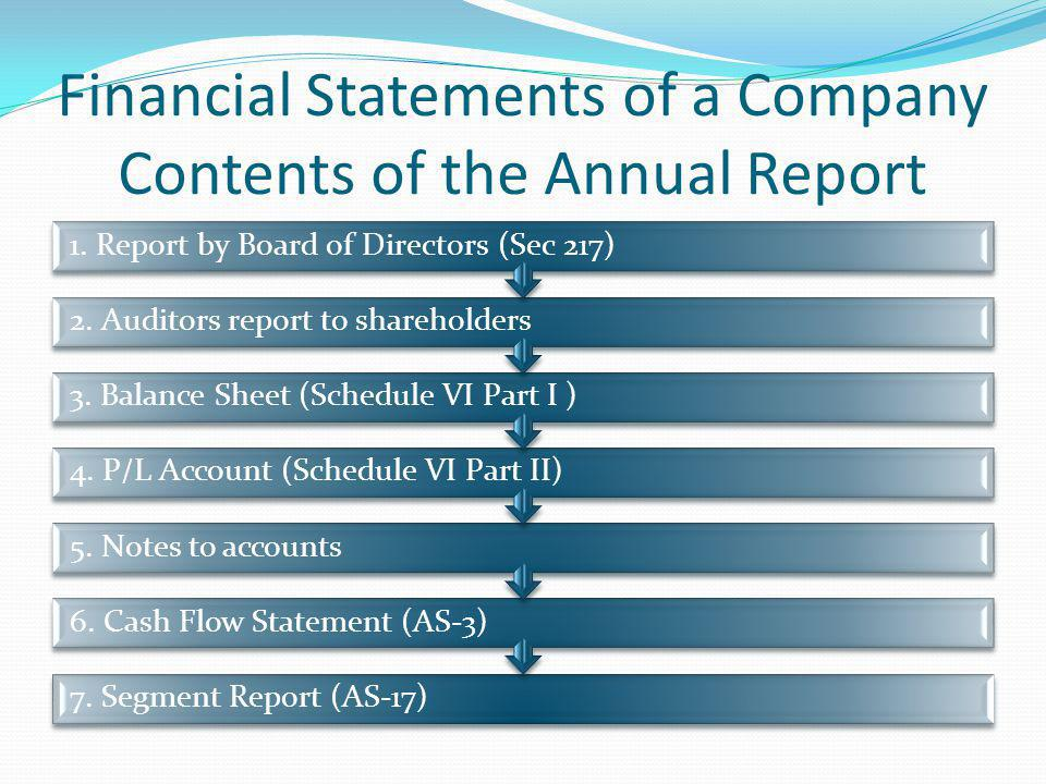 Nature of Financial Statements Recorded facts of business transactions Conventions followed to facilitate accounting techniques Accounting concepts followed Personal judgements have an important bearing on the financial statements (eg.