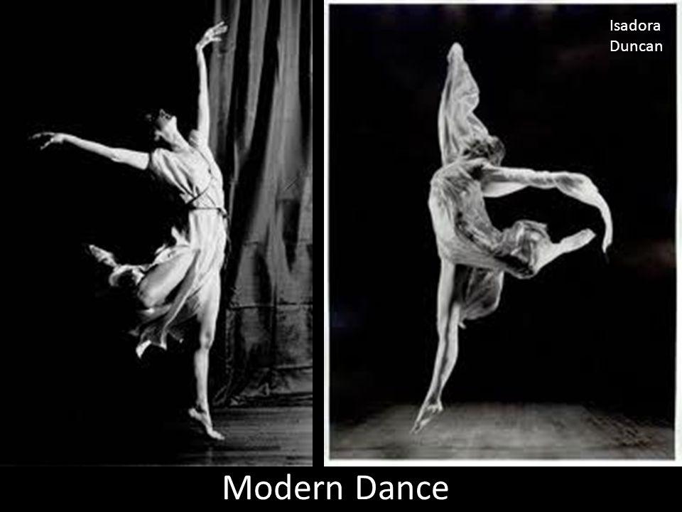 Modern Dance Isadora Duncan