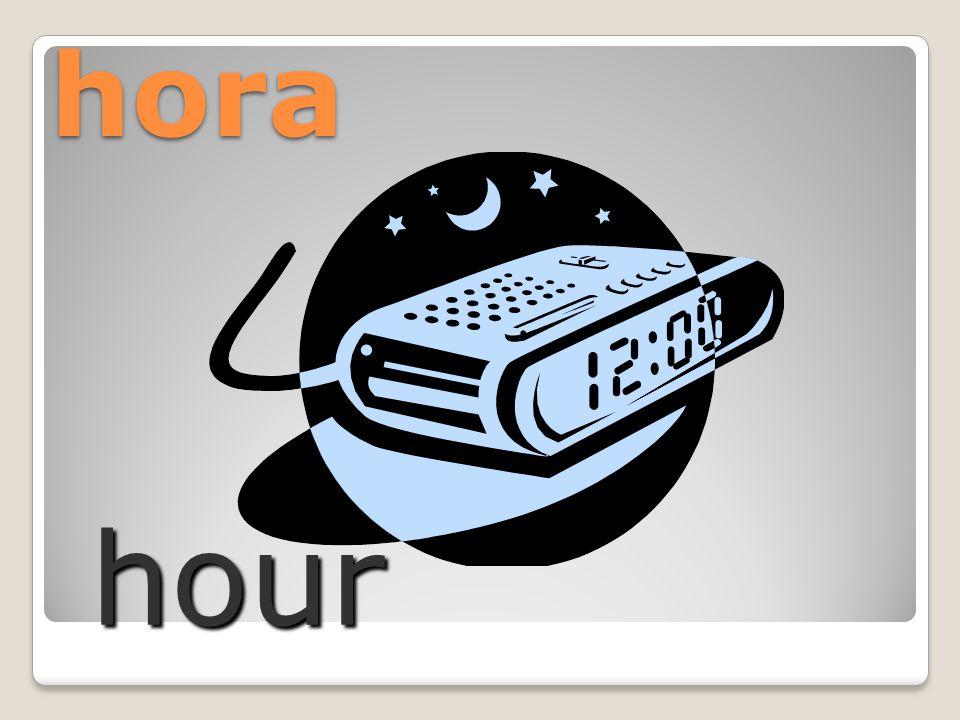hora hour