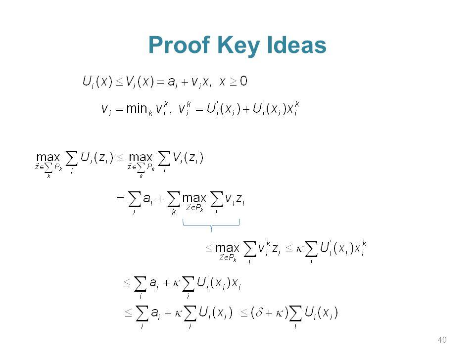 Proof Key Ideas 40