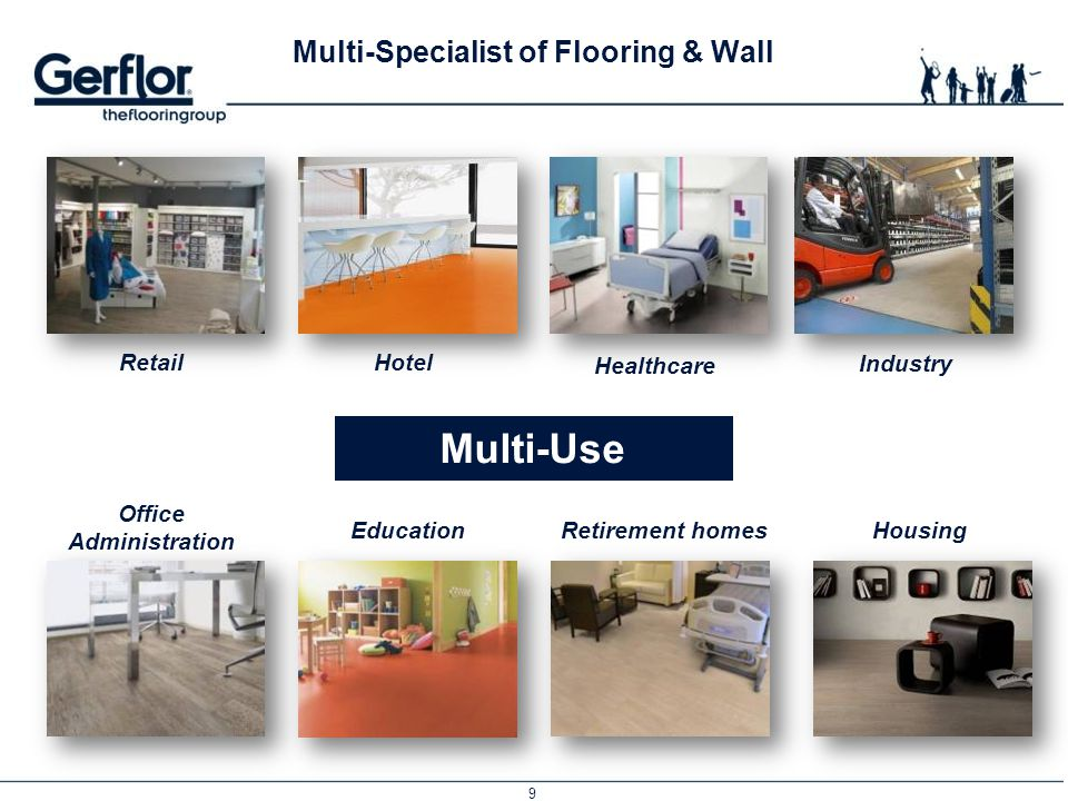 Gerflor The healthcare multi-specialist