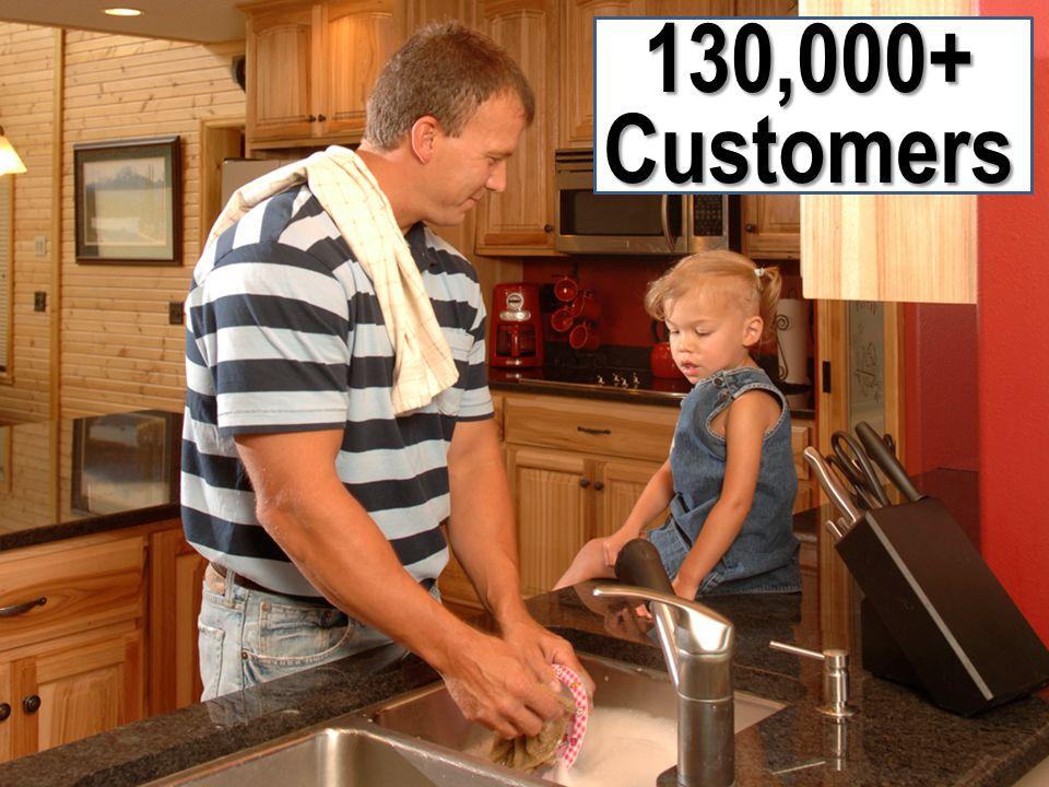 3 130,000+ Customers