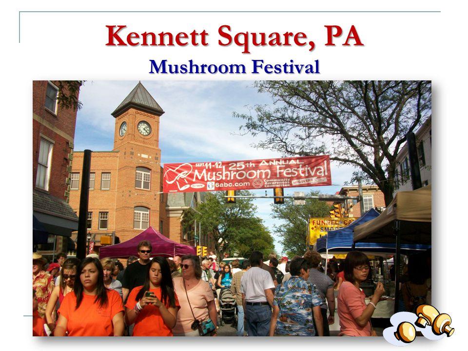 Kennett Square, PA Mushroom Festival Mushroom Festival