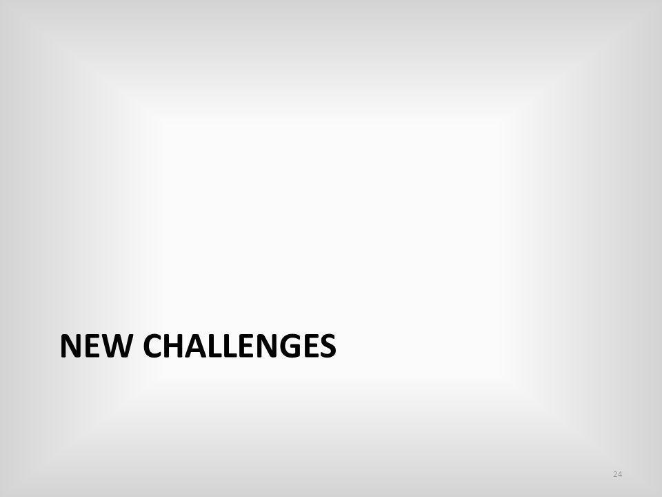 NEW CHALLENGES 24
