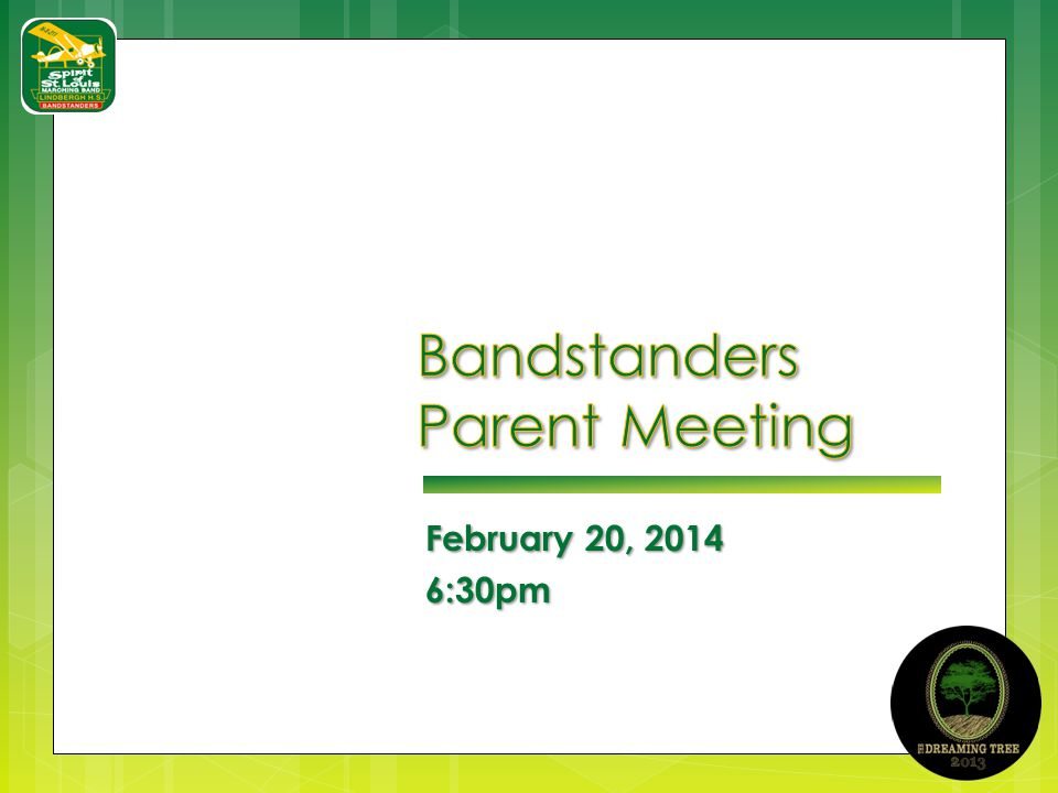 February 20, 2014 6:30pm