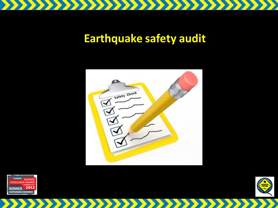 w Earthquake safety audit