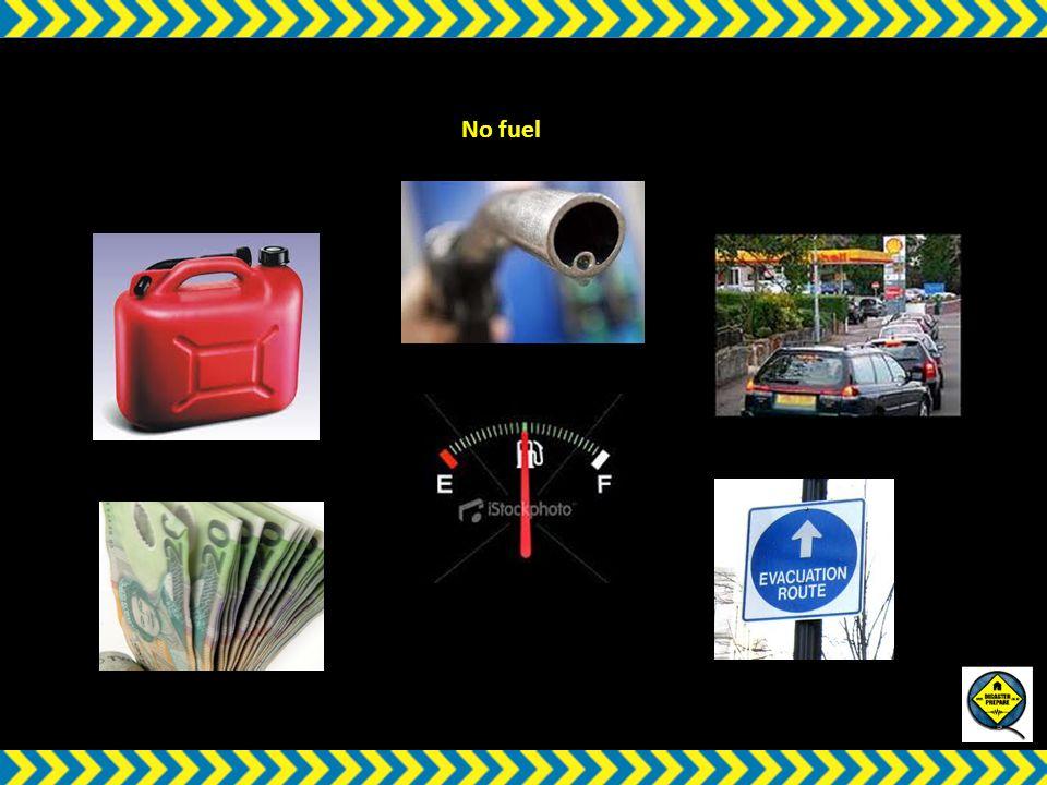 w No fuel