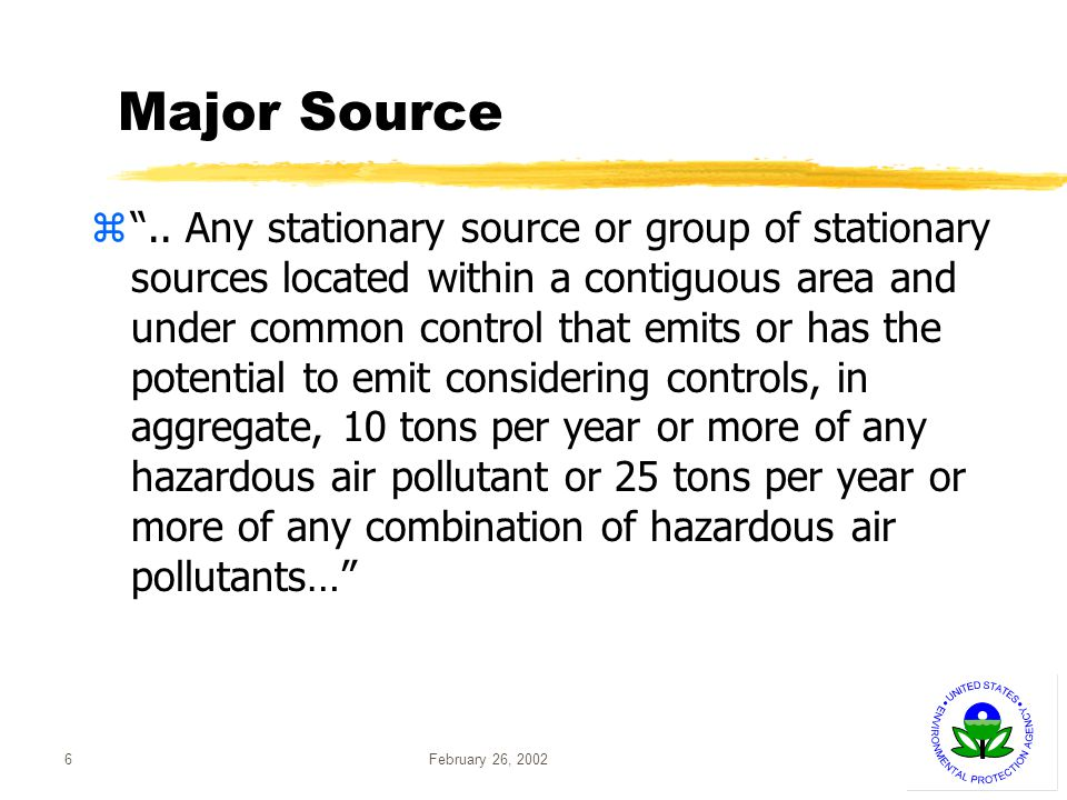 February 26, 200237 MACT Floor - Existing Units zPreliminary MACT floors based on control technologies for existing sources yFor solid fuel boilers xLarge units -- Baghouse (metals)/scrubber (HCl) xSmall units -- No demonstrated emission reduction xLimited-use units -- ESP yFor liquid fuel units -- No demonstrated emission reduction yFor gaseous fuel units -- No demonstrated emission reduction zMACT floors are actually emissions levels