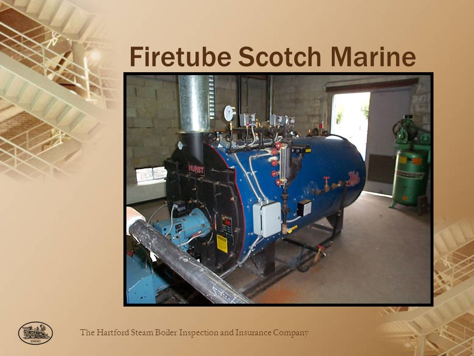The Hartford Steam Boiler Inspection and Insurance Company Firetube Scotch Marine