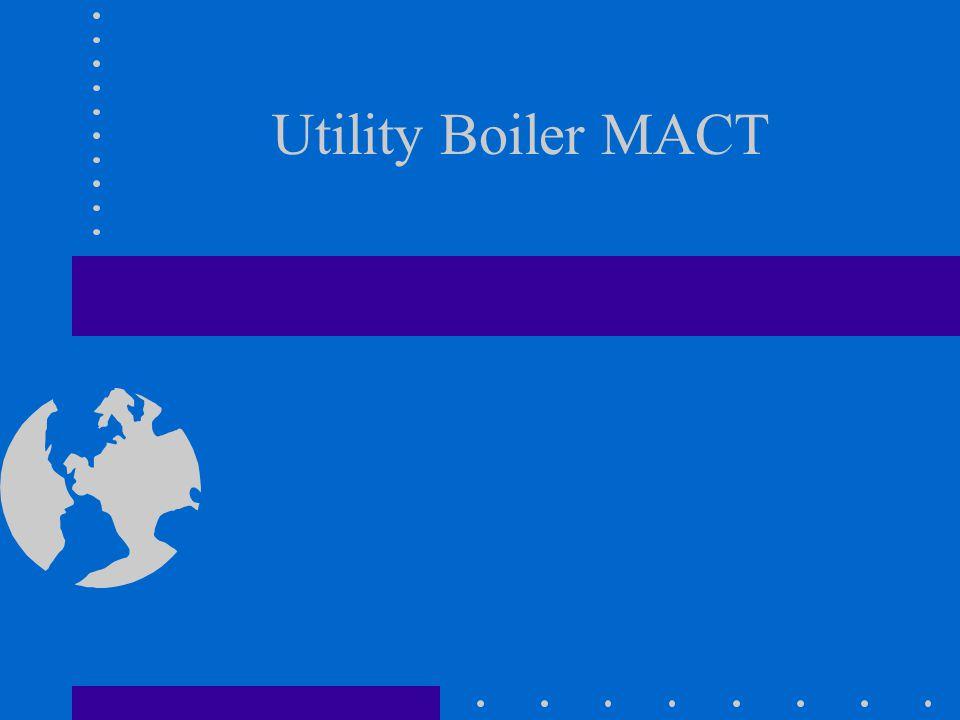Utility Boiler MACT