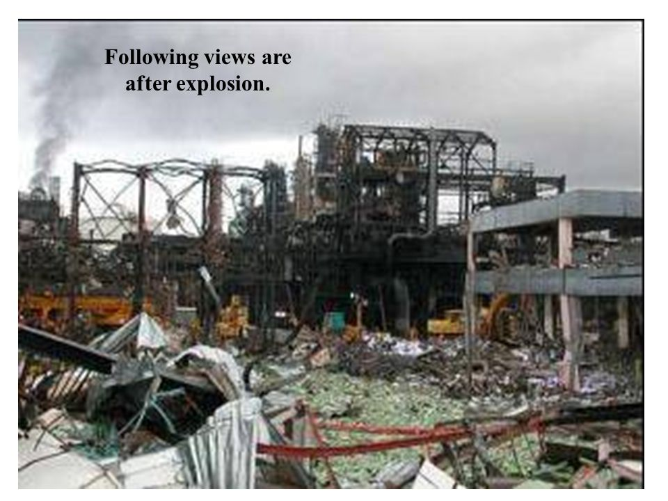 Following views are after explosion.
