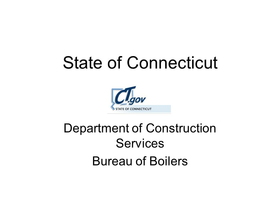 History 1864 – An Act Authorizing The Governor To Appoint Inspectors Of Boilers 1875 – part of weights, measures and inspectional laws 1902 – removal of incompetent operators Revisions in 1915, 1918, 1920 and 1930 1949 – added spark arrestors on portable steam boilers