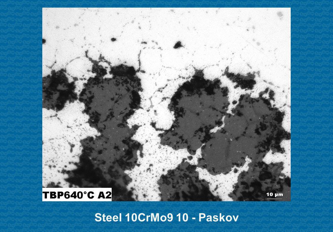 Steel 10CrMo9 10 - Paskov